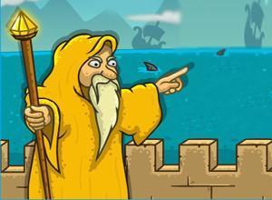 لعبة الدفاع عن مدينة الذهب