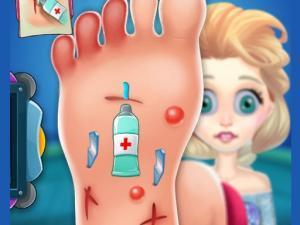 العاب طبيب بنات علاج القدمين
