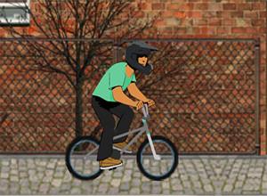 لعبة دراجات شوارع المدينة
