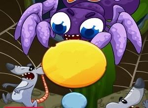 لعبة مغامرات العنكبوت صائد الفئران