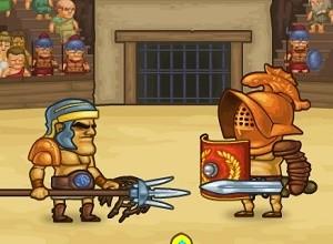 لعبة قتال مصارع الرومان