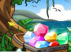 لعبة جزيرة الموجوهرات