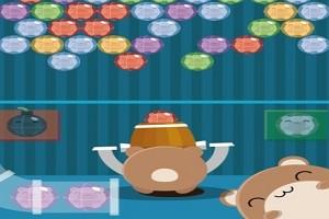 لعبة الفأر هامسترو و الكرات الملونة