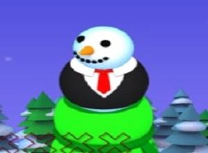 لعبة رجل الجليد الدائر