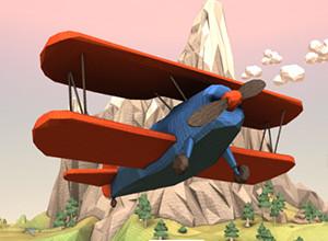 لعبة انقضاض الطائرة