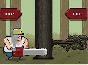لعبة الرجل قاطع الاشجار