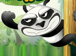 لعبة قفزة الباندا فى الربيع