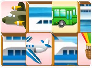 لعبة تجميع وسائل النقل