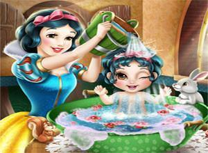 لعبة ابنة سنو وايت
