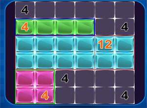 لعبة الارقام و الخلايا الفارغه