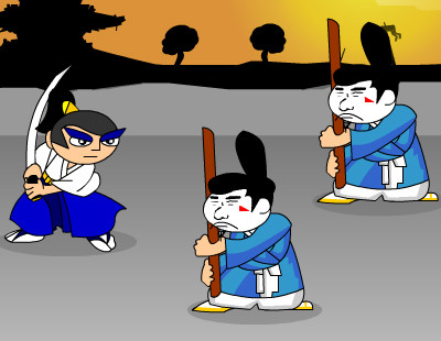 لعبة حرب الساموراي