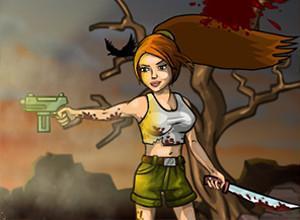 لعبة الفتاة المقاتلة والزومبى