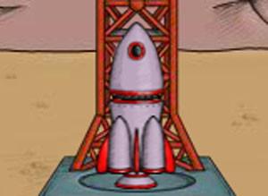 لعبة صاروخ المريخ