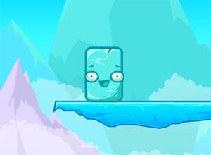لعبة الصخور الجليديه