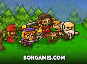 لعبة حماية ملك الرومان