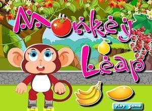 لعبة القرد وتساقط الفاكهة
