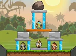 لعبة تدمير البيض