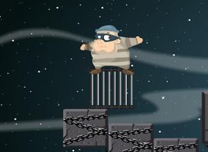 لعبة توصيل الحرامي الي السجن