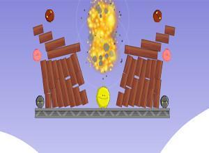لعبة تفجير وحوش الظلام القاتلة