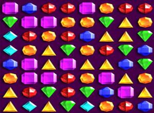 لعبة المجوهرات الملونه