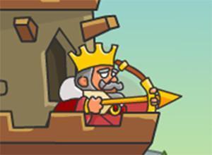 لعبة ضربات قوس الملك
