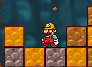 لعبة مغامرات ماريو فى الكهف