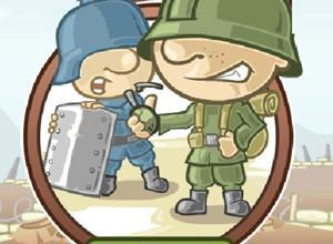 لعبة حرب قنابل الصحراء