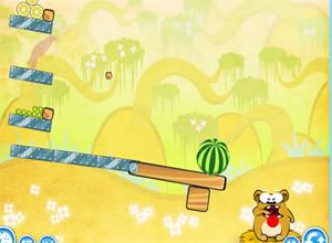 لعبة أكل الدب بوبى