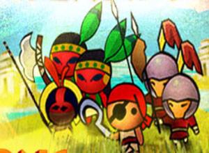 لعبة حرب القبائل البدائيه