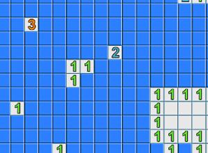 لعبة لغز الارقام وكاسحة الالغام