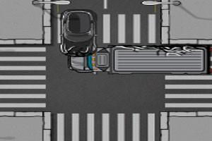 لعبة حوادث المرور