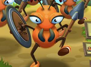 لعبة حرب معسكرات النمل