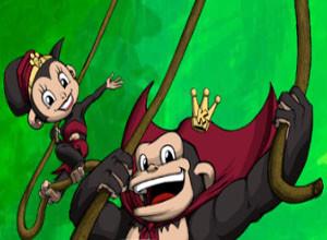 لعبة غابة القرود