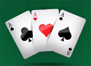 لعبة الكوتشينة والثلاث كروت الملونة