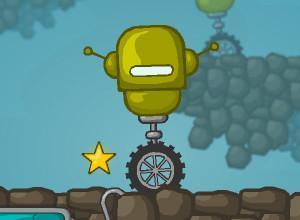لعبة عجلة الروبوت الواحدة تكفى