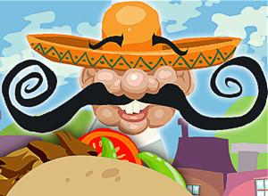 لعبة شطائر المكسيكى والوجبات السريعة