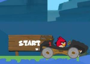 لعبة انجري بيرد القيادة السريعة