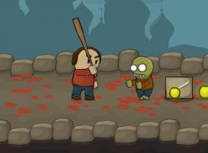 لعبة الطالب مطارد الزومبى
