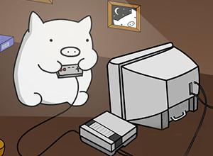 لعبة مغامرات الخنزير الذكى