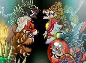 لعبة معركة الحيوانات