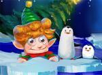 لعبة إنقاذ بابا نويل وزراعة شجر الكريسماس