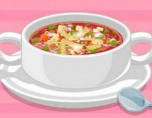 لعبة طبخ حساء الخضار