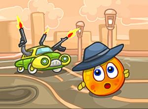 لعبة غزو الفضاء وحماية محصول البرتقالة