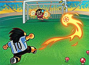 لعبة كرة القدم والقاعدة الدائرية