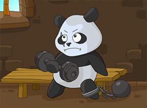 لعبة الباندا المفترس