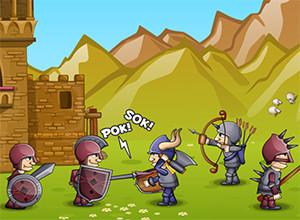 لعبة متاريس القلعة