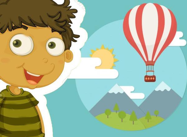 لعبة فتى البالونات النطاط