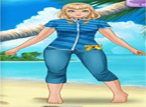 لعبة موضة الشاطئ
