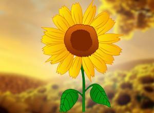 لعبة مدينة زومبى النباتات والاشجار وزهرة عباد الشمس