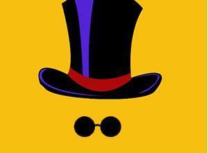 لعبة القبعة والساعى الهلامى المطارد القبعات